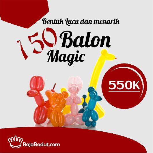 balon magic ultah