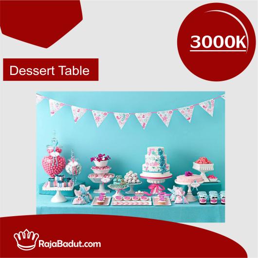 jasa dessert table
